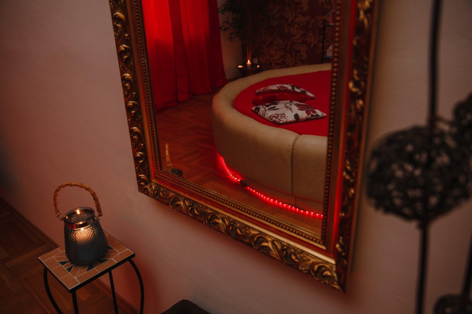 Interiér salonu